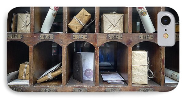 Hogsmeade Owl Post Office IPhone Case