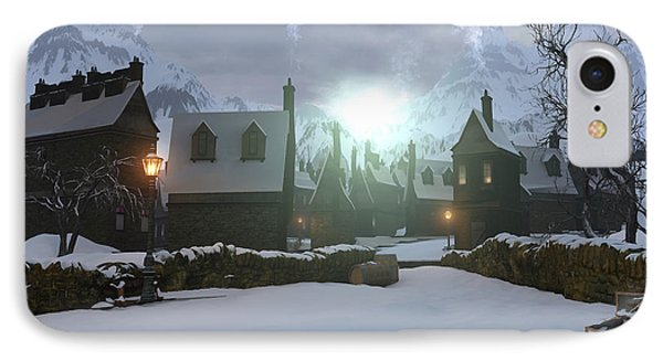 Hogsmeade IPhone Case by Cynthia Decker