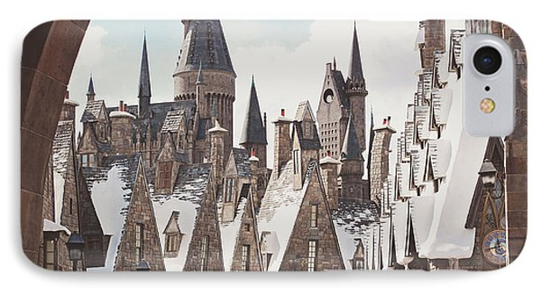 Hogsmeade IPhone Case by Jessie Gould
