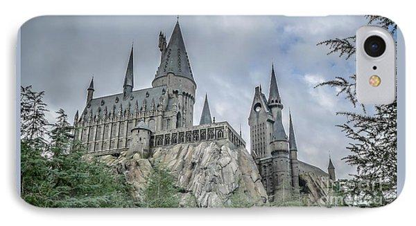Hogswarts Castle  IPhone Case by Edward Fielding