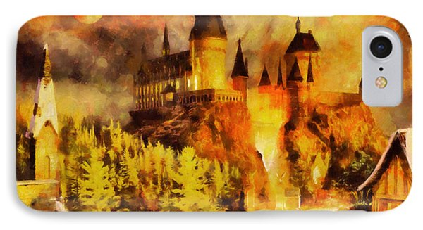 Hogwarts College Phone Case by George Rossidis