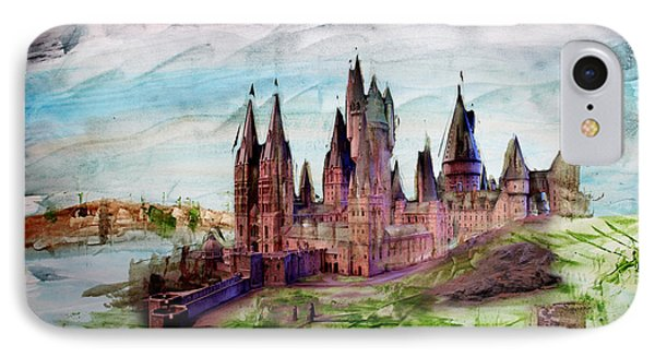 Hogwarts IPhone Case by Roger Lighterness