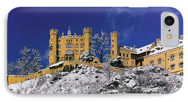 Hohenschwangau Castle Schloss IPhone Case by Panoramic Images