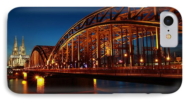 Hohenzollern Bridge IPhone Case by Mihai Andritoiu