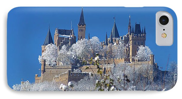 Hohenzollern Castle Germany Phone Case by Rudi Prott