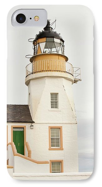 Holborn Head Lighthouse IPhone Case by Ashley Cooper