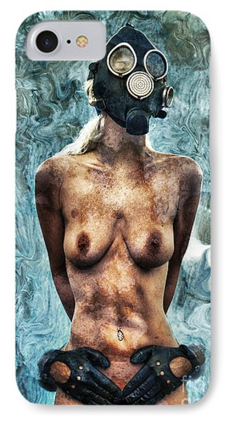 Hold Me If I M Dying 3 IPhone Case by Stelios Kleanthous