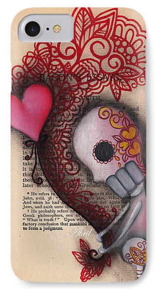 Holding On IPhone Case by  Abril Andrade Griffith