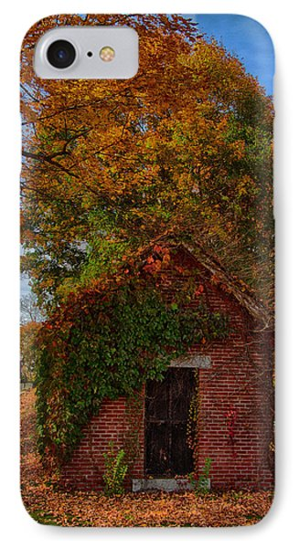 IPhone Case featuring the photograph Holding Up The  Fall Colors by Jeff Folger