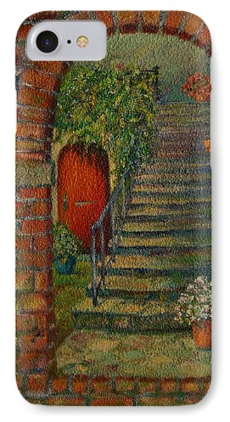 Hole In The Wall IPhone Case by Dorothy Allston Rogers