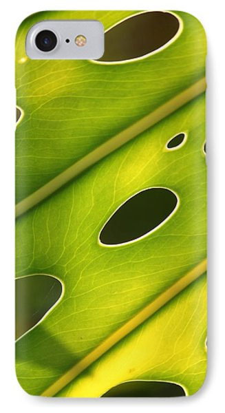 IPhone Case featuring the photograph Holey Light by Amy Gallagher