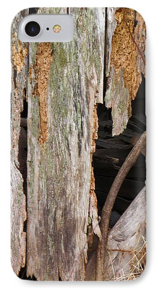 IPhone Case featuring the photograph Holey Smokehouse by Nick Kirby