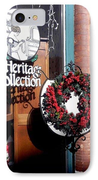 Holiday Classic IPhone Case by Peggy Stokes