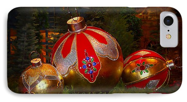 Holiday Decorations Phone Case by Lucinda Walter