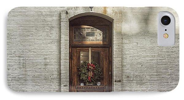 Holiday Door IPhone Case
