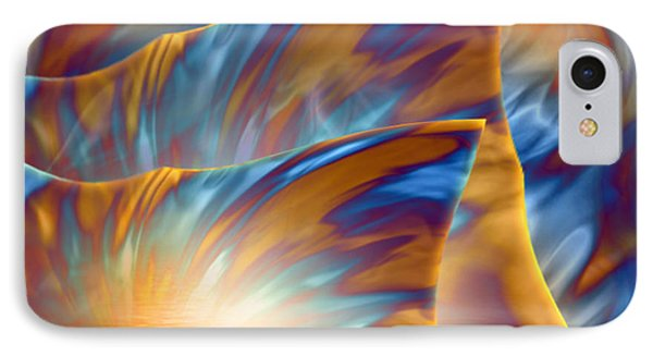 IPhone Case featuring the digital art Holiday Dream - Fantasy Art By Giada Rossi by Giada Rossi