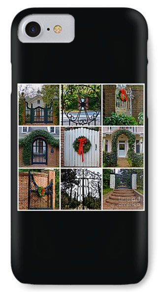 Holiday Gates Of Aiken's Winter Colony IPhone Case