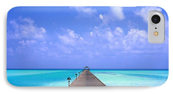 Holiday Island Maldives IPhone Case by Panoramic Images