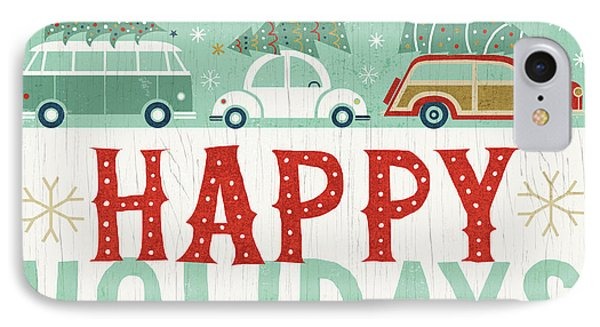 Holiday On Wheels Ix IPhone Case by Michael Mullan