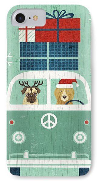 Holiday On Wheels Xii IPhone Case by Michael Mullan