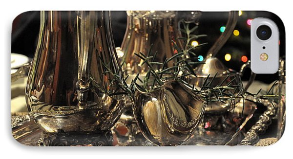 Holiday Silver  2 IPhone Case by Tanya  Searcy