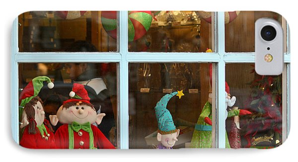 IPhone Case featuring the photograph Holiday Window by Ann Murphy