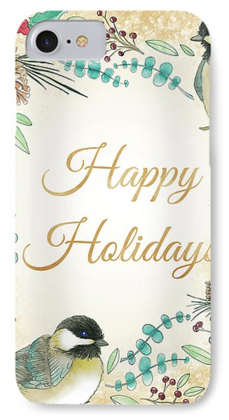 Holiday Wishes II IPhone 7 Case by Elyse Deneige
