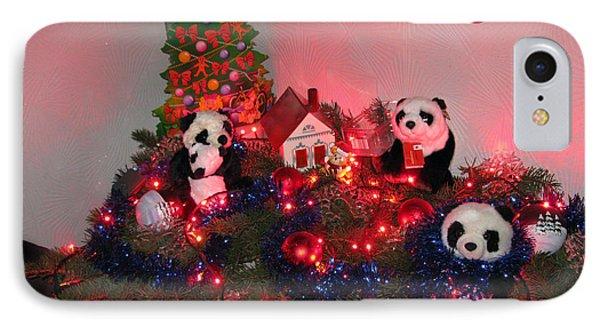 Holidays In Pandaland Phone Case by Ausra Huntington nee Paulauskaite