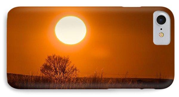 Hollister Idaho Spring Sunset IPhone Case