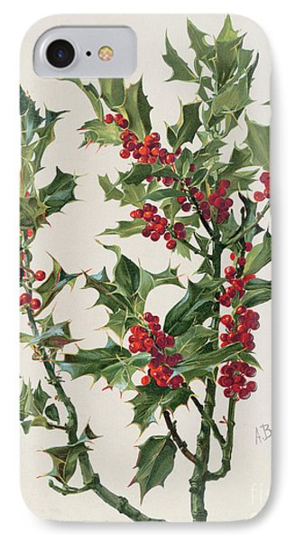 Holly IPhone Case by Alice Bailly