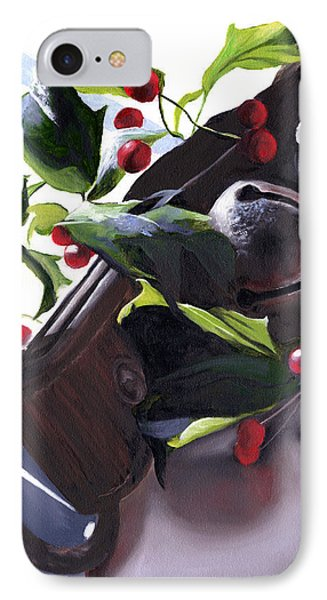 Holly And Bells IPhone Case by Christopher Lyter