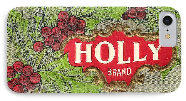 Holly Brand Yellow Cling Peaches Phone Case by Studio Art