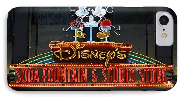 Hollywood Disney IPhone Case by David Nicholls