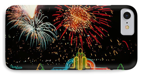 Hollywood Fireworks IPhone Case