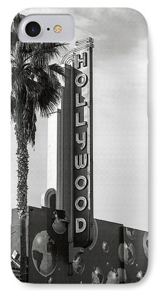 Hollywood Landmarks - Hollywood Theater IPhone Case
