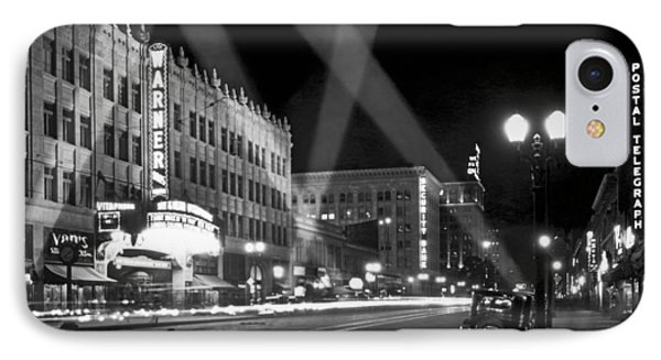 Hollywood Premier IPhone Case by Underwood Archives