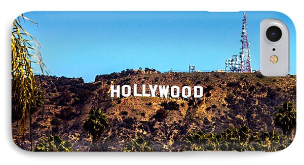 Hollywood Sign IPhone Case by Az Jackson