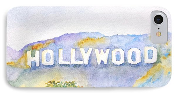Hollywood Sign California IPhone Case by Carlin Blahnik