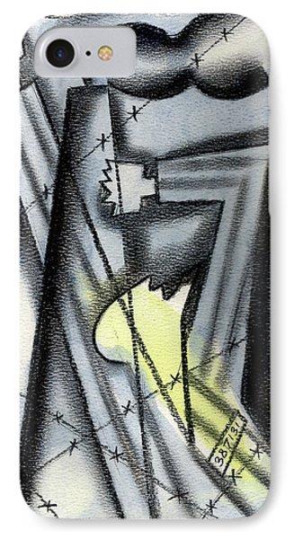 Holocaoust IPhone Case by Leon Zernitsky