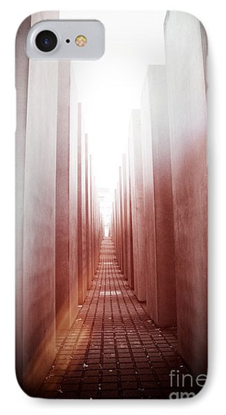 Holocaust Memorial Berlin IPhone Case by Jane Rix