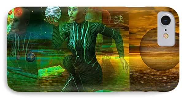Holographic Universe IPhone Case by Shadowlea Is