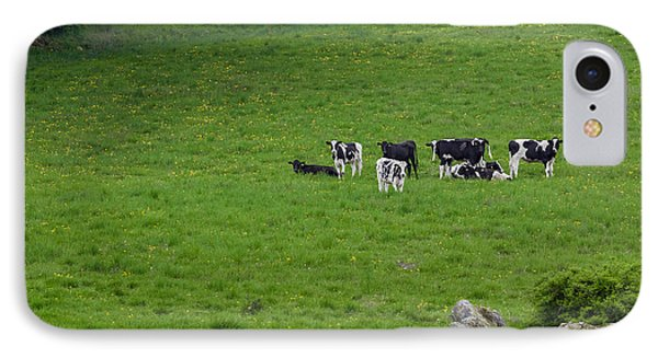 Holsteins Phone Case by Bill Wakeley