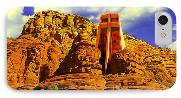 Holy Cross Chapel Coconino National Forest IPhone Case