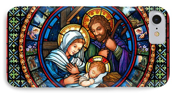 Holy Family Christmas Story IPhone Case