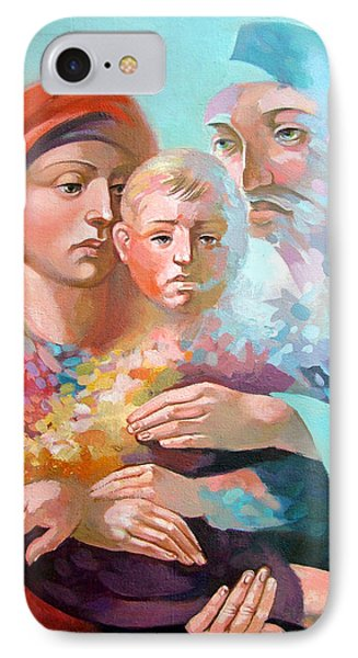 Holy Family Phone Case by Filip Mihail