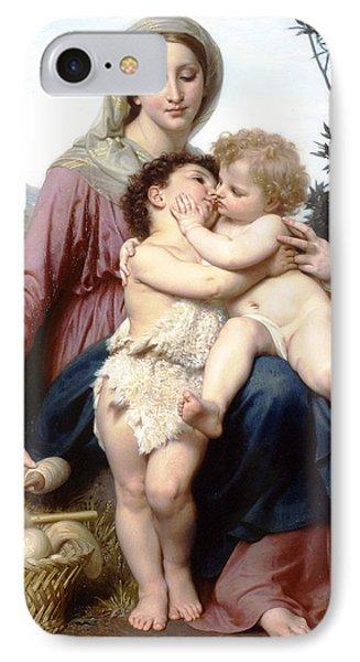 Holy Family Phone Case by William Bouguereau