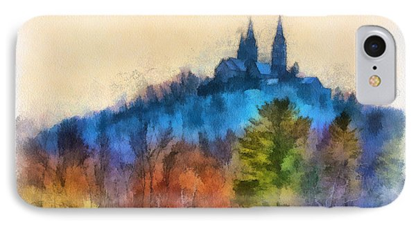 Holy Hill Autumn IPhone Case by Clare VanderVeen