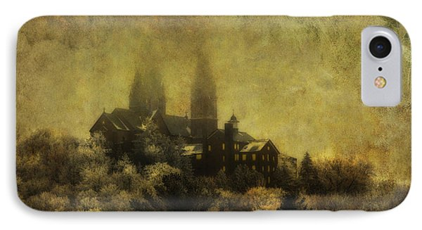 Holy Hill Basilica With Textured Overlay IPhone Case