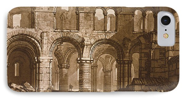 Holy Island Cathedral IPhone Case by Joseph Mallord William Turner