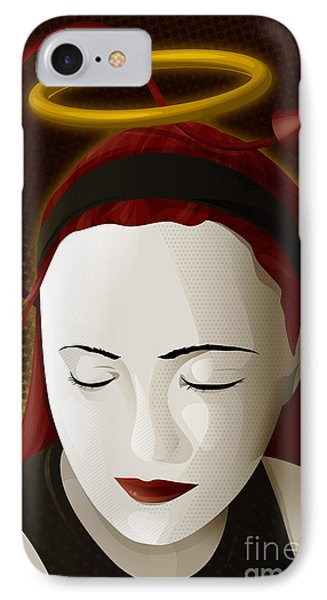 Holy Mary Phone Case by Sandra Hoefer